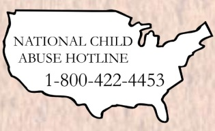 logo of National Child Abuse Hotline - link to website